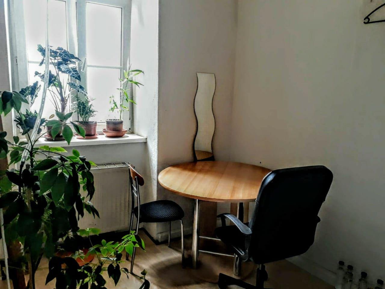bright & cozy room close to center!
