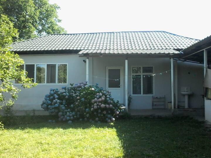 small house in center of  Gabala