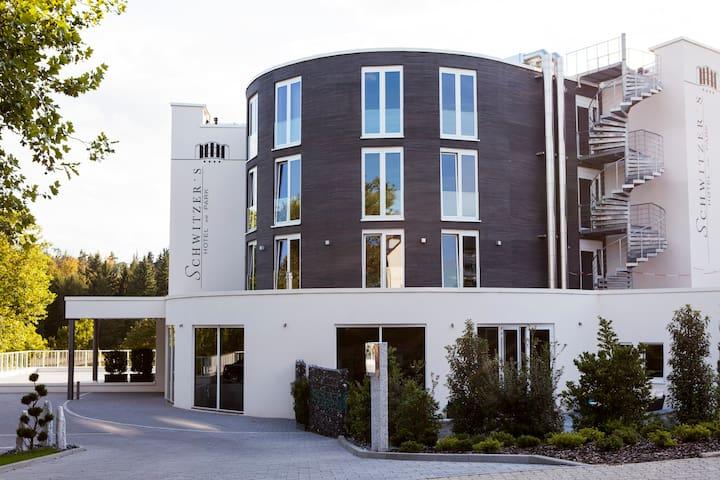 Schwitzer's Hotel am Park, Turmzimmer, EZ