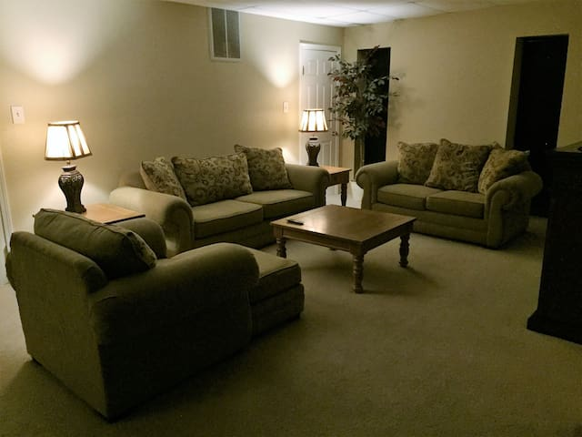 • Fully Furnished 2-Bedroom Executive Apartment •