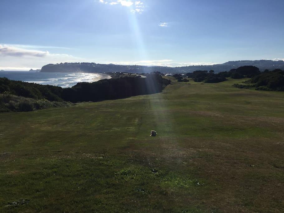 golf course / St Kilda beach