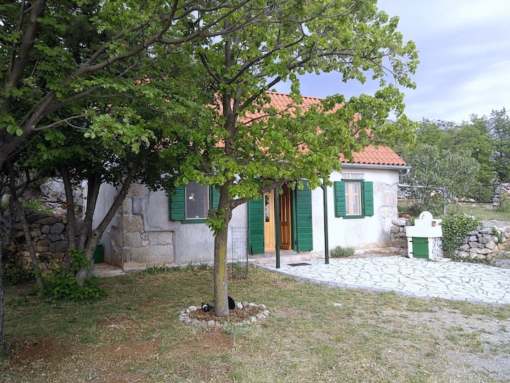 A house in remote area of N. Velebit Nature Park