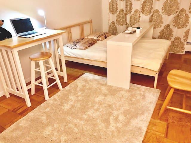 Beautiful bedroom in great location - Cambridge - Lägenhet