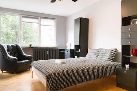 ♥ Comfortable room next to Central Railway Station - Warszawa - Pis