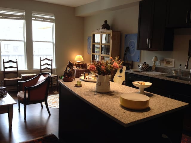 Sleek brand new 1 BD in the heart of Rockville! - Rockville - Apartamento