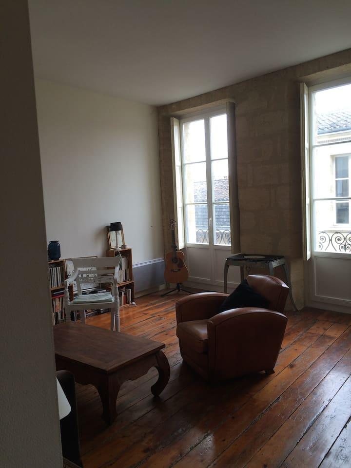 Appartement 45 m2, Bordeaux centre