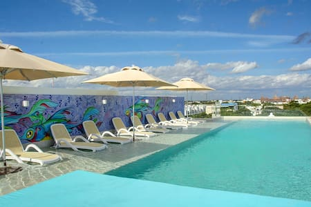 Great Price! Anah 2 BD Suite Near Beach & 5th Ave - Playa del Carmen