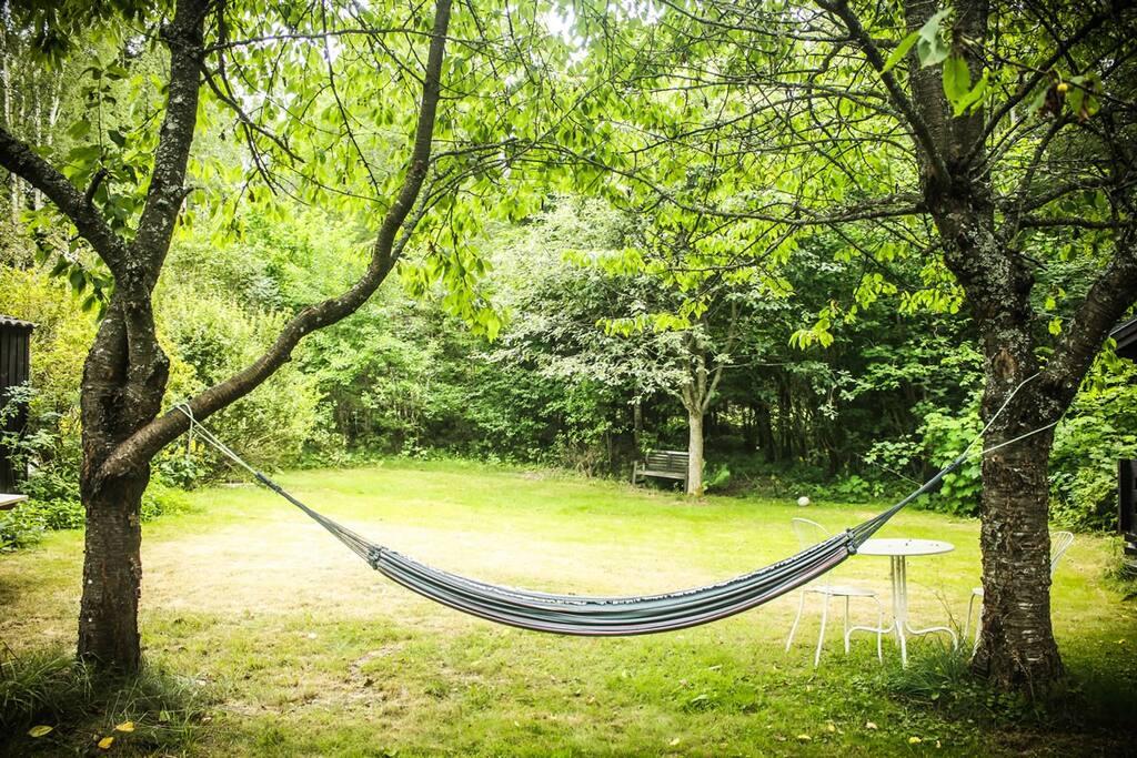 Hammock for lazy days/Hängmatta för lata dagar