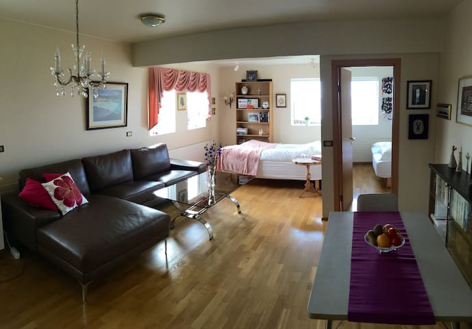 Nice apartment, great ocean view. Licence nr HG-22 - Akranes - Appartement