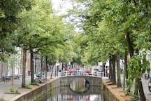 Bridge on the Oude Delft