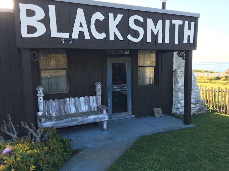 My house is an old blacksmith shop from 1886