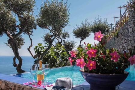 Villa Ponente with Swimming Pool - Positano