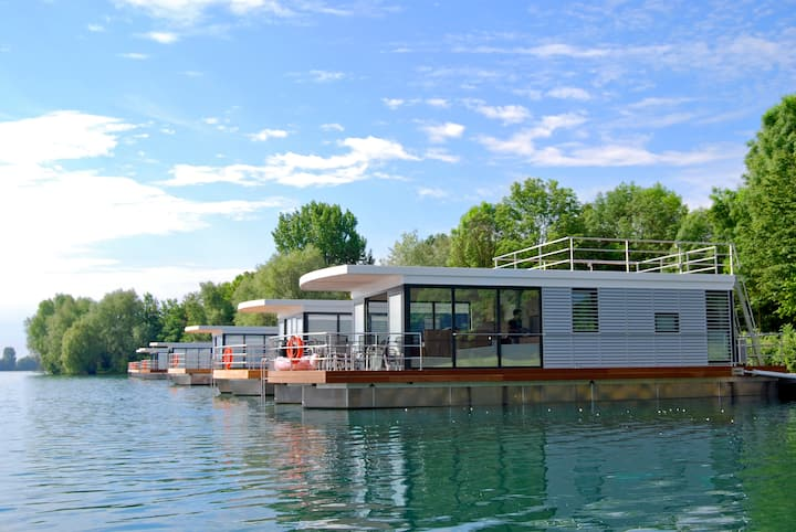 Houseboat Marianne↔Romantic holiday in the harbour