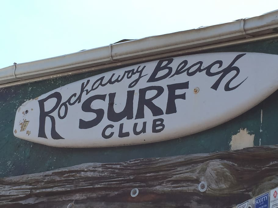The Surf Club, only 1 block away