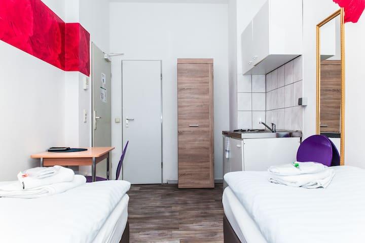 Private Pensionszimmer in der Altstadt von Köln