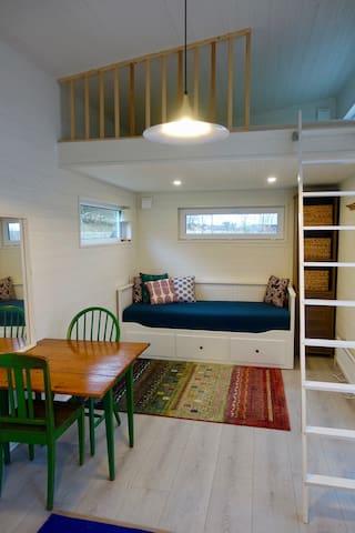 Cozy tiny house on a working farm