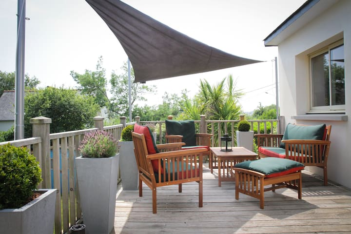 Pleasant and bright house in Fréhel, 10 min walk to the beach