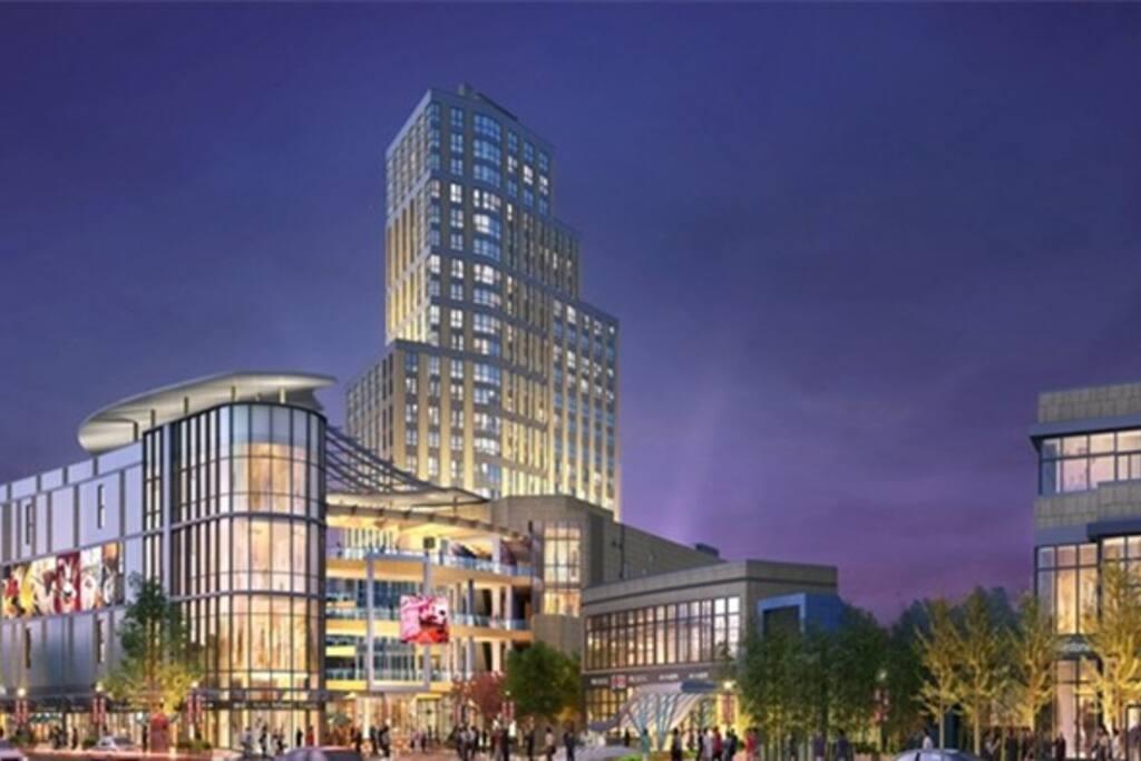 大型商场加酒店式公寓!