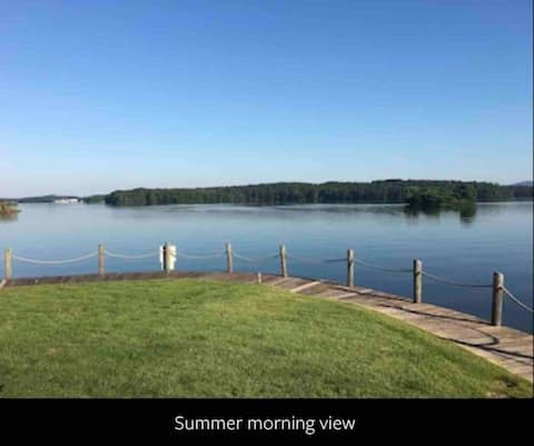 """Joyful Pleasures""on Lake Hamilton"