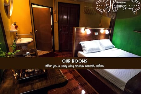 The House of Happinez: A cozy ambience (Room2) - โรงแรมบูทีค