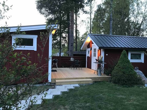 Compact Living Lugnet with private sauna/shower