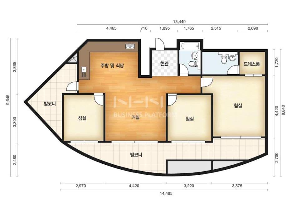Floor map 108/84.79㎡