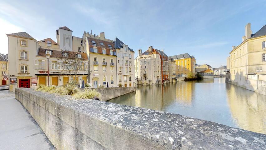 """As in Venice"" in the heart of Metz-Opera 🚣"
