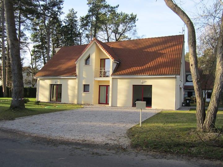Villa au Touquet  avec grande capacité d'accueil.