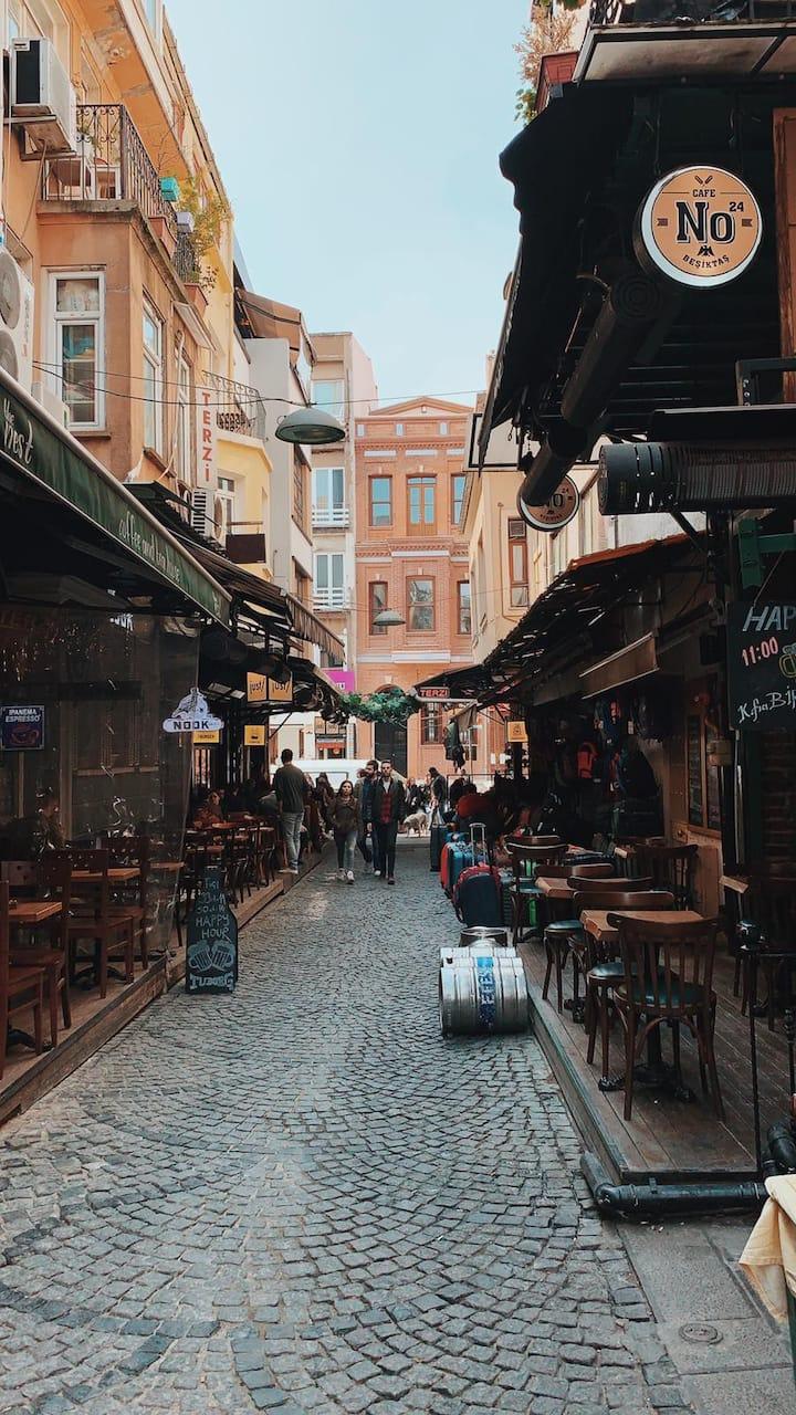 Back streets of Beşiktaş