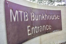 MTB Bunkhouse entrance