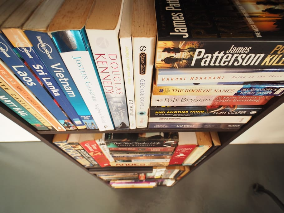 My books collection.