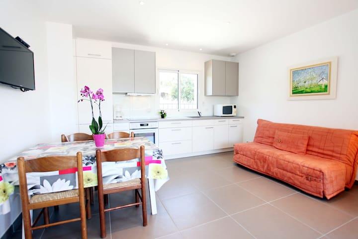 Appartement dans villa avec Piscine - La Colle-sur-Loup - Leilighet