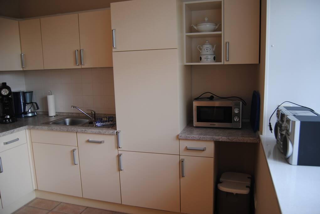 Einbauküche mit allem Komfort