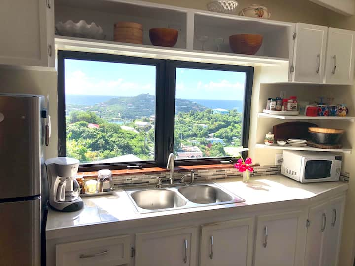 Home away from home 1-bedroom with St. Croix views