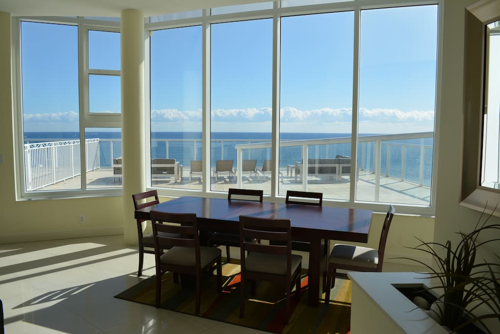 Oceanfront 4 Bedroom Penthouse With Large Sundeck Guest Suites For Rent In Fort Lauderdale