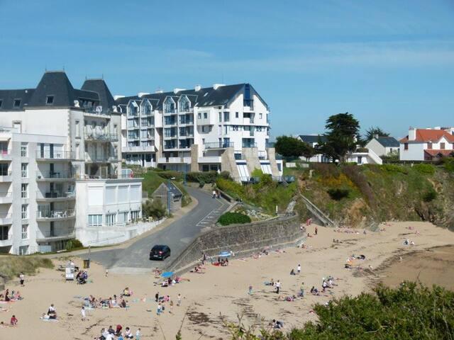 Appartement  les pieds dans l'eau en Bretagne !