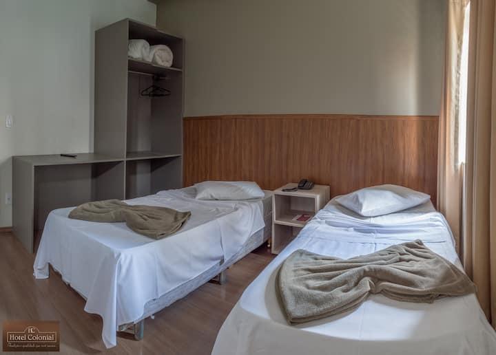 Itatiba Hotel Colonial - Quarto Duplo