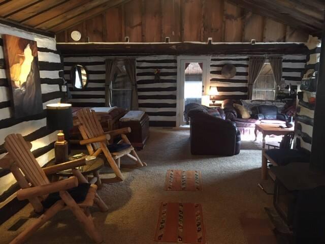 Cozy Vintage Log Cabin