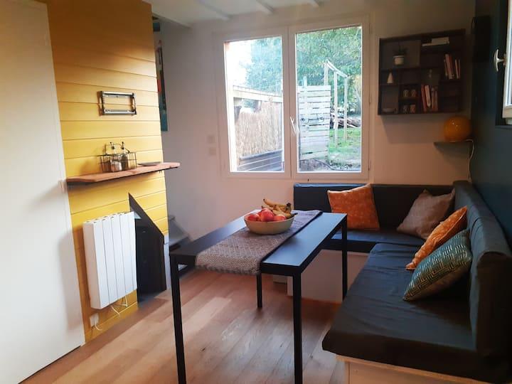 Appartement cosy et lumineux au calme