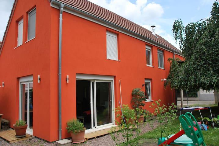 Maison tout confort au sud de Strasbourg - Illkirch-Graffenstaden - House