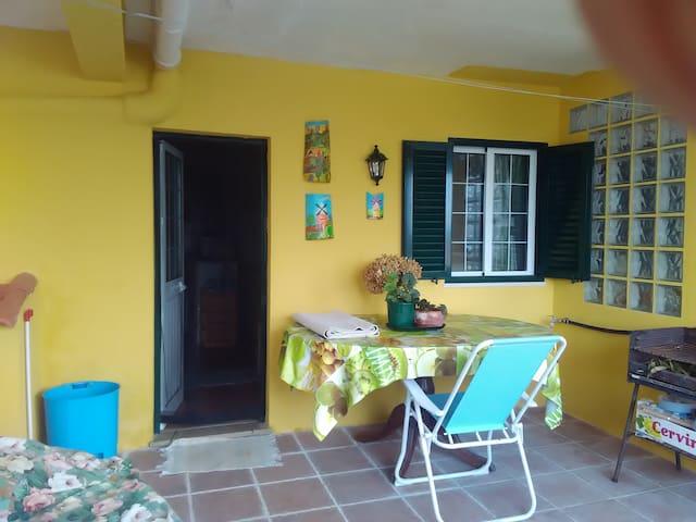 Pátio Exterior - Patio extérieur