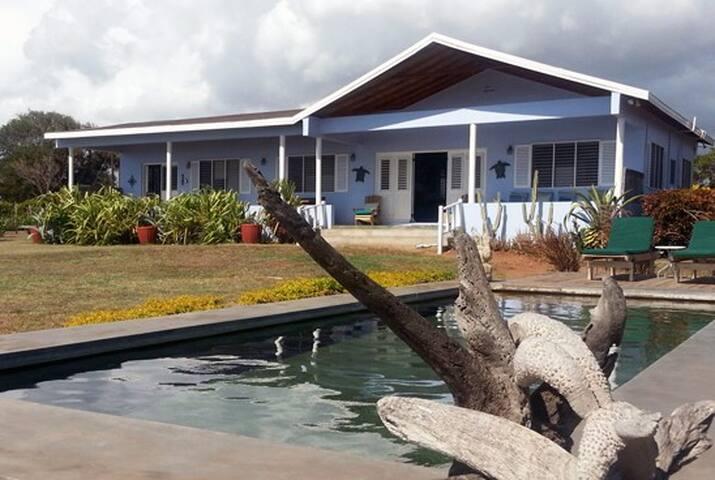 Driftwood 3 bedrooms 5-6 guests - Treasure Beach - Casa