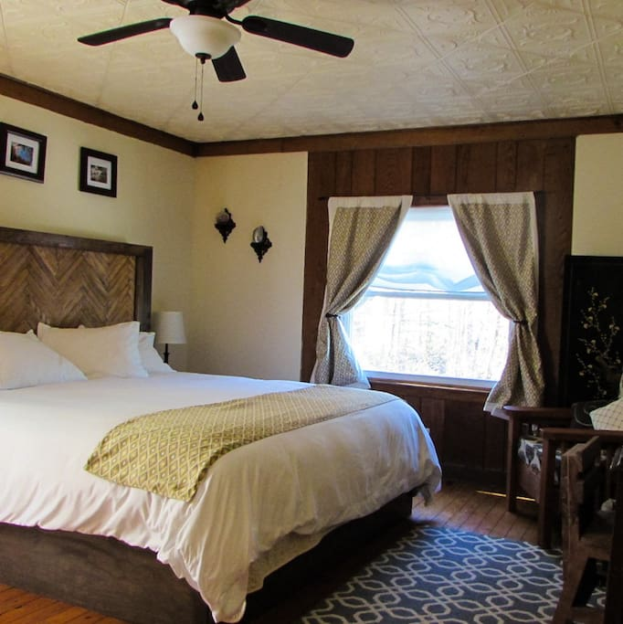 Cherry Blossom is a spacious room with a king sized bed