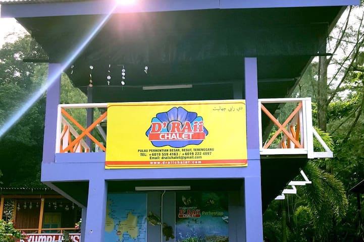 D'Raii Chalet - Kuala Besut - Chalet