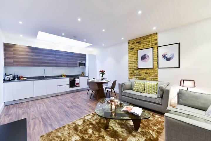 Luxurious 1 Bedroom Apartment Near Camden