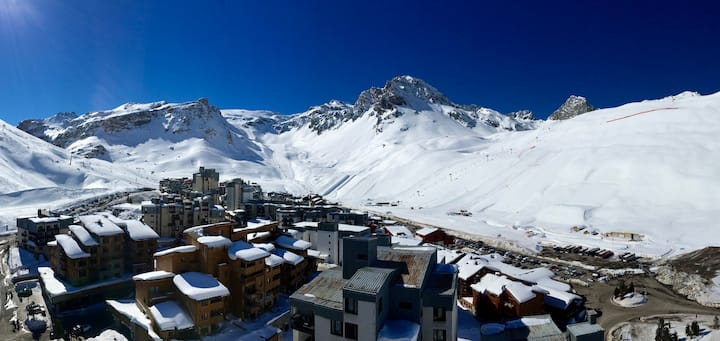 Amazing penthouse in Tignes' tallest building