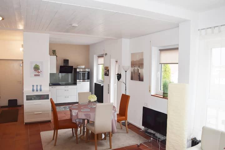Stadtnahe helle und separate Wohnung, 50 qm