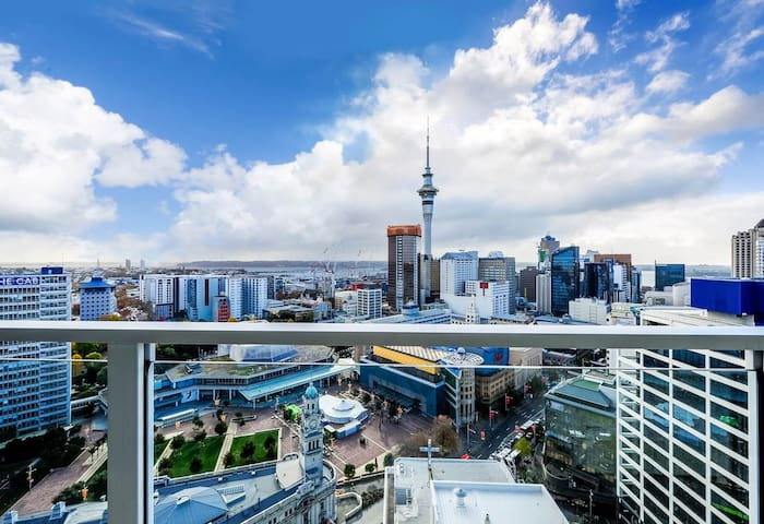 Revel in Auckland's City Skyline
