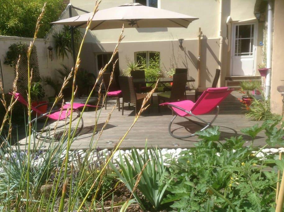 Normandie 20 minutes d 39 etretat et honfleur maisons for Location garage montivilliers