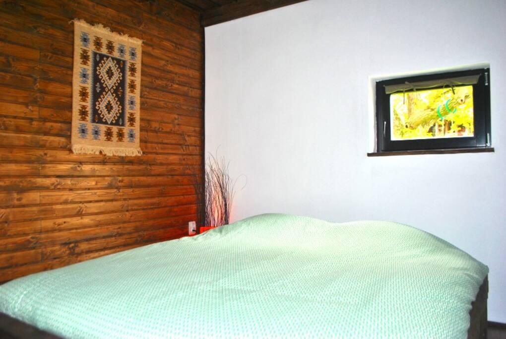 Hostels double bedroom